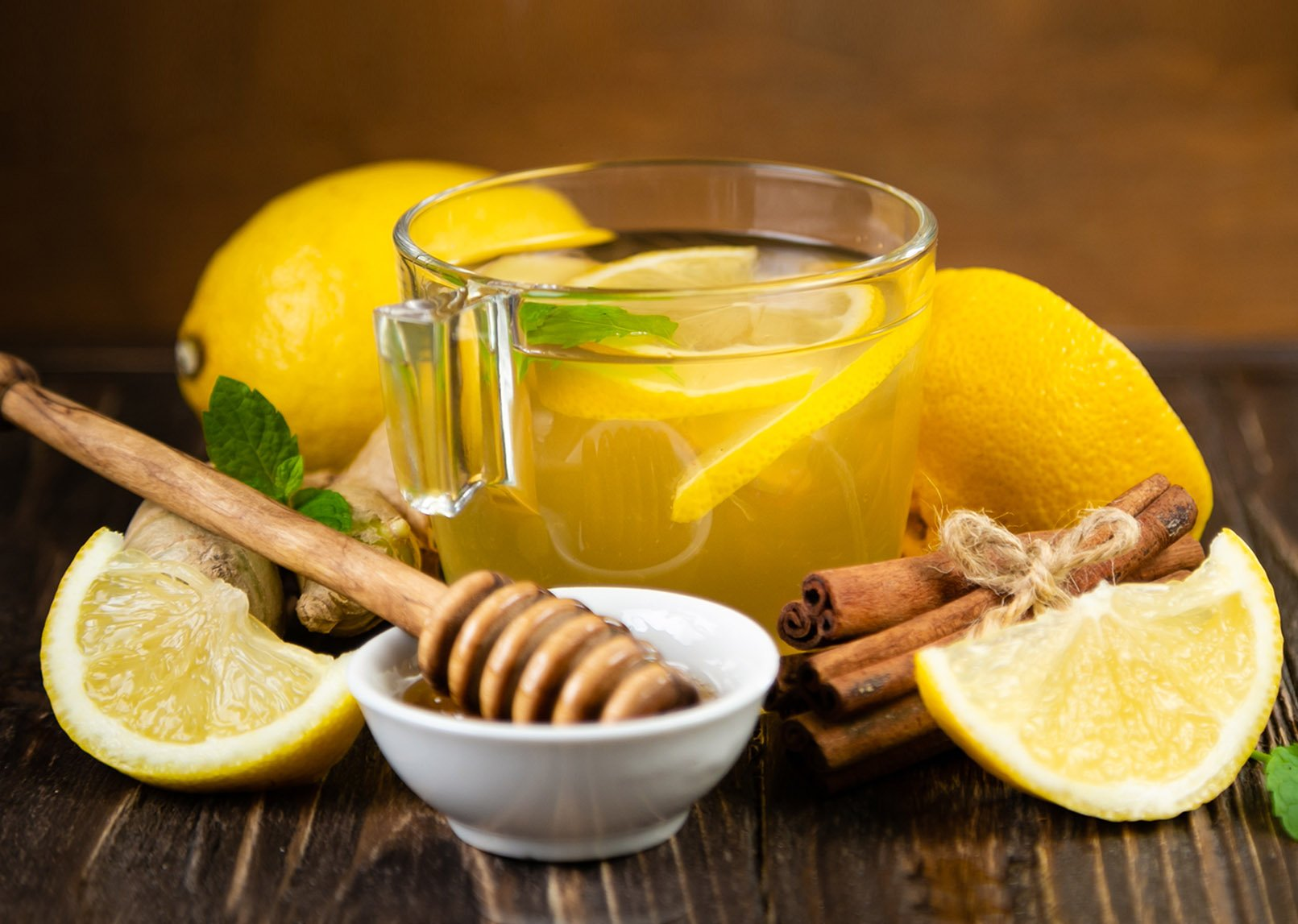 Classic Lemon Ginger & Honey Fruit Infusion