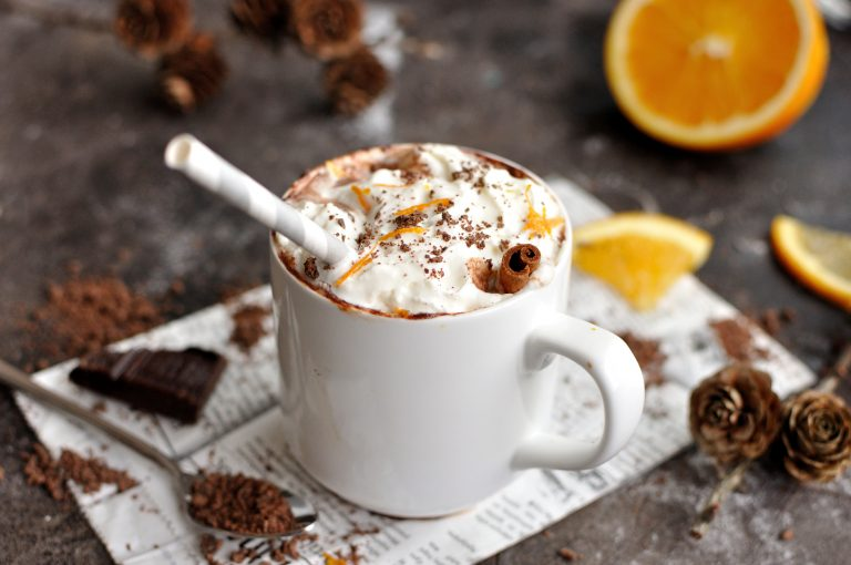 Decadent Orange Hot Chocolate