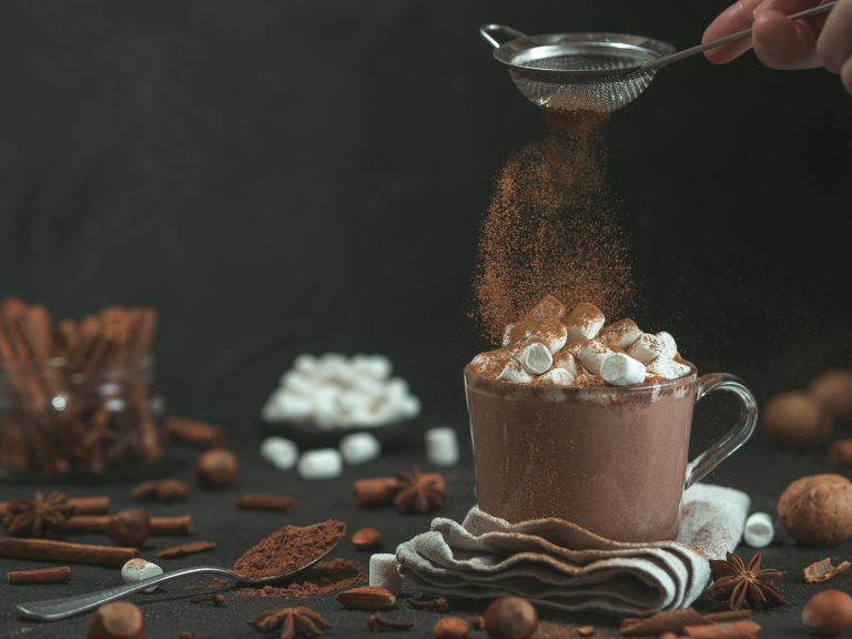 Luscious Dark Hot Chocolate