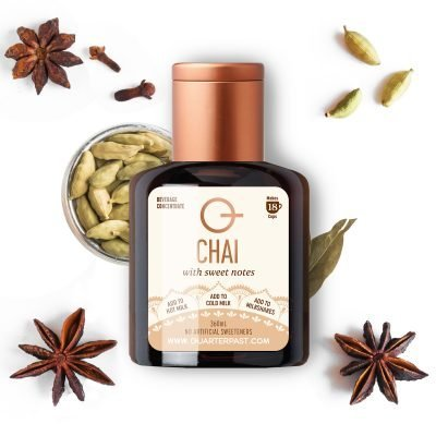 Q Chai Concentrate 360mL 4-Pack