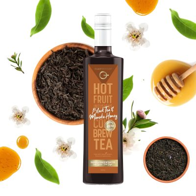 Q Black Tea & Manuka Honey 500mL
