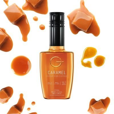 Q Caramel Syrup for Coffee 250mL