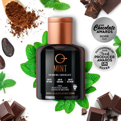 Q Mint Hot Chocolate 360mL