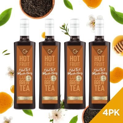 Q Black Tea & Manuka Honey Hot & Cold Infusion 500mL