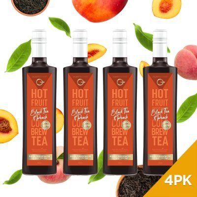 Q Black Tea & Peach Hot & Cold Infusion 500mL