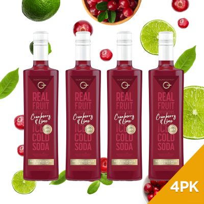 Q Cranberry & Lime Real Fruit Mixer 500mL (Limited Release)