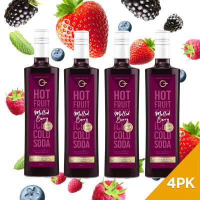 Q Mulled Berry Hot & Cold Infusion 500mL
