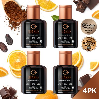 Q Orange Hot Chocolate 360mL