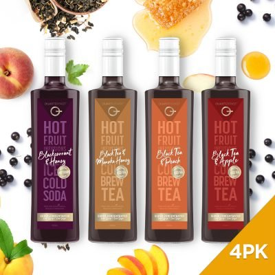 Q Hot & Cold Infusions 500mL (4-Pack)