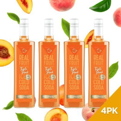Q Triple Peach Real Fruit Mixer 500mL (Limited Release)