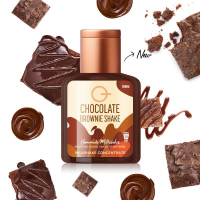 Q Chocolate Brownie Shake 360mL
