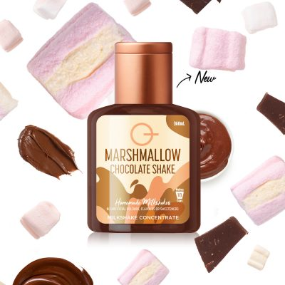 Q Marshmallow Chocolate Shake 360mL