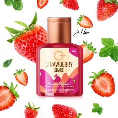 Q Strawberry Shake 360mL
